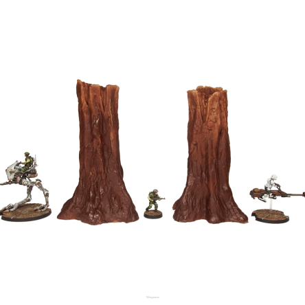 SWL Forest Trees Standing Set 1 (2)