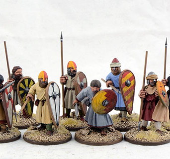 Spanish Warriors on Foot