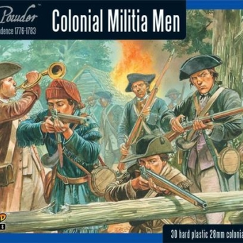 Colonial Militia Men