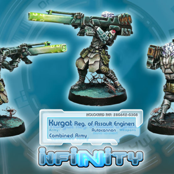 Kurgat, Reg, of Assault Engineers (Autocannon)