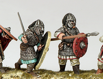 Armoured Arthurian Infantry