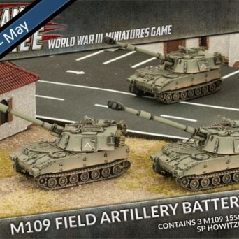 M109 SP Artillery Battery