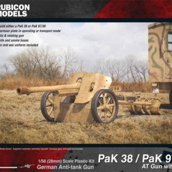Pak38/Pak 97/38 Anti-tank Gun with Crew