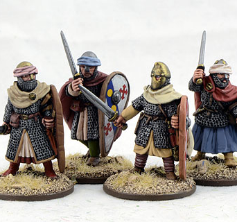 Dismounted Spanish Knights Two (4)
