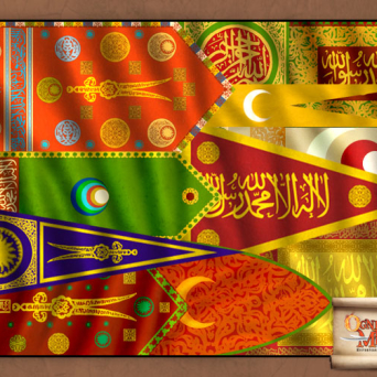 FLAG-OTT Banners of Ottoman Empire