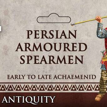 Persian Armoured Spearman